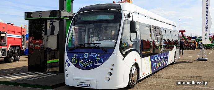 Электробусы запустят пока только для тестирования, они будут сочлененными. Производить АКБ начнут под Минском