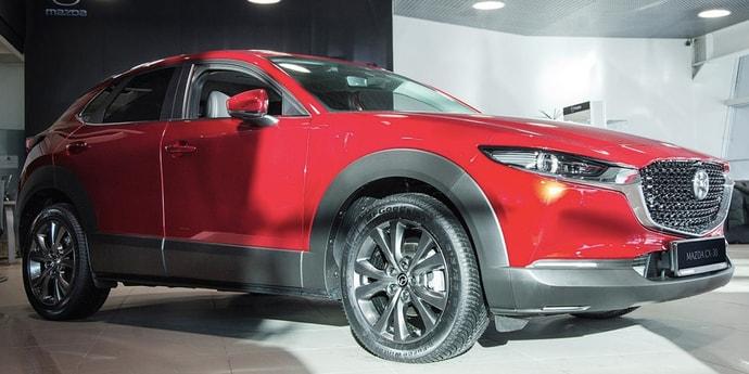 Кроссовер Mazda CX-30 куда-то пропал с рынка ТС