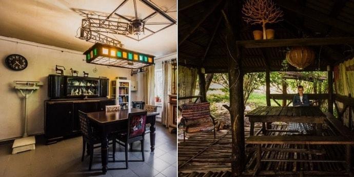 Квартира дня. Минчане создали в частном доме необычный «деревенский» интерьер