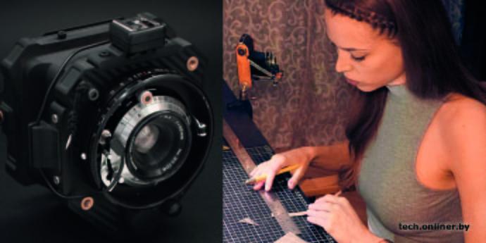 Девушка представила пленочную опенсорс-камеру для 3D-печати (5 фото)