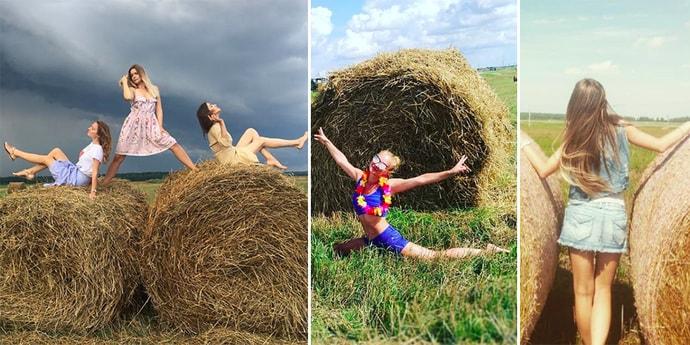 Пока светит солнце: белоруски на сене в Instagram