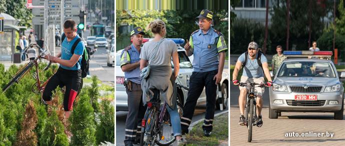 Вело-стоп! ГАИ усилила контроль за серьезными нарушениями велосипедистов
