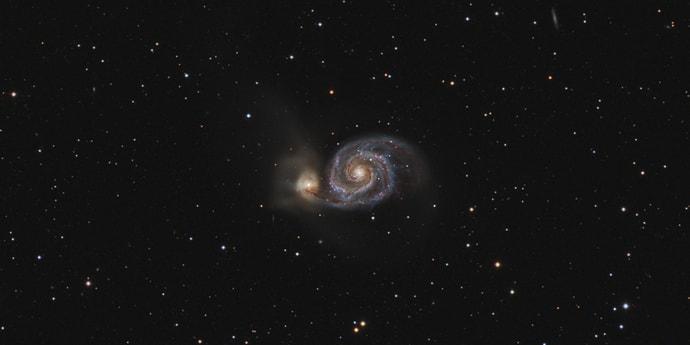 Открыта первая потенциальная планета в другой галактике