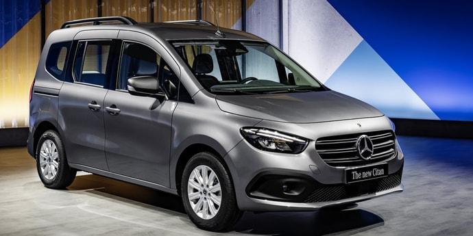 Немцы представили новое поколение Mercedes Citan