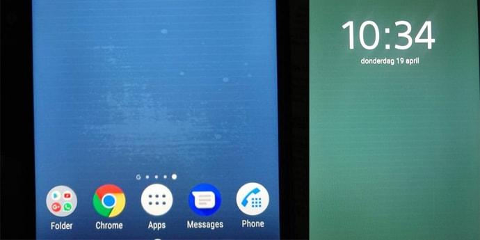 Полосы на экранах смартфонов Sony — это не дефект, а воздействие статического электричества