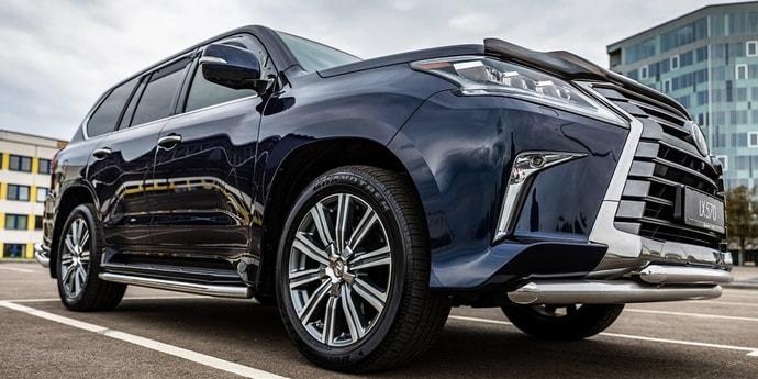Производство нового Lexus LX откладывается минимум до 2022 года