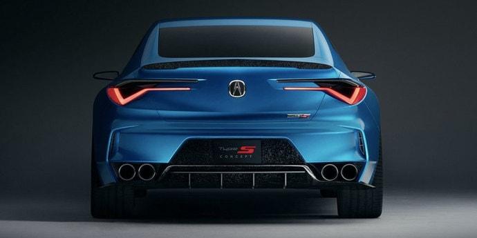 Компания Acura напугала BMW M3 эффектным концептом