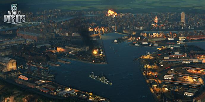World of Warships получит новые миссии в день премьеры фильма «Дюнкерк»