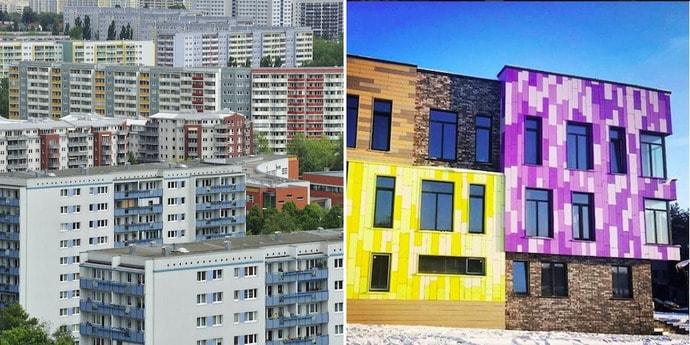 Сможете угадать, где построены эти дома? Архитектурный тест