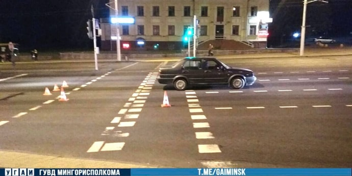 Серьезное ДТП на Партизанском проспекте, пострадал пешеход(дополнено)