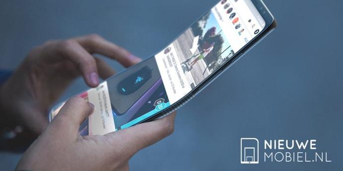 Дизайнер показал, как может выглядеть сгибающийся смартфон Samsung Galaxy F (5 фото)