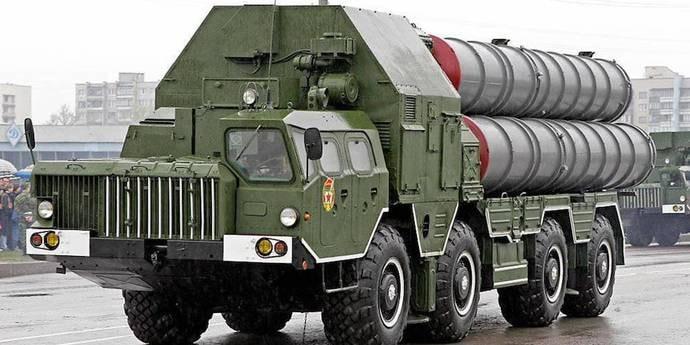 Ракетный комплекс С-300 попал в ДТП под Полоцком