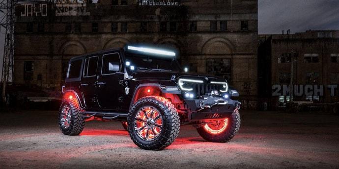 Для Jeep Wrangler разработали пакет дополнительного освещения