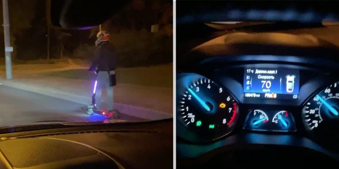 Минчане просили запретить ездить электросамокатам по тротуарам. В ГАИ ответили: можно будет по велодорожкам и по тротуарам(дополнено)