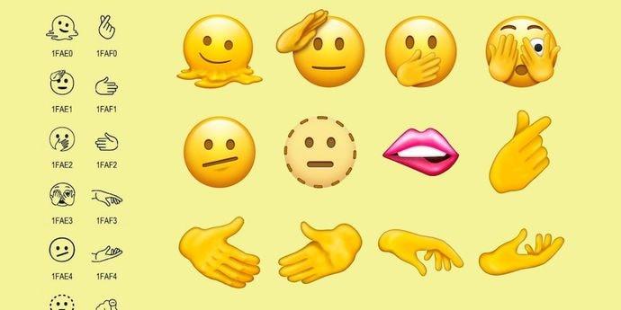 Unicode представил новые эмодзи 2021 года. Теперь их всего 3633 штуки
