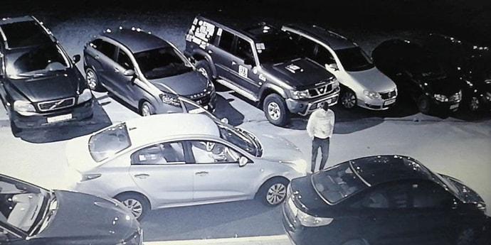 На видео попало ДТП, после которого водитель решил скрыться. Ищем очевидцев(видео)