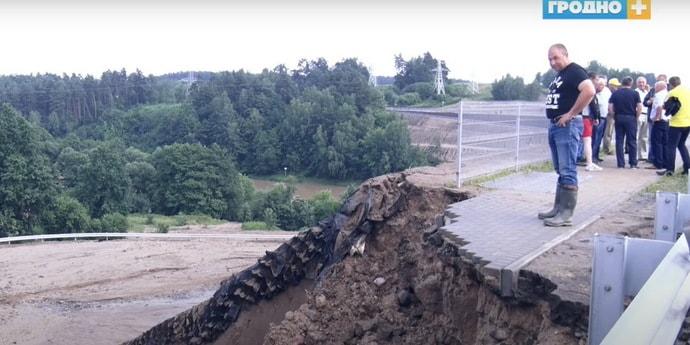 Караник прокомментировал ситуацию с подмытым мостом
