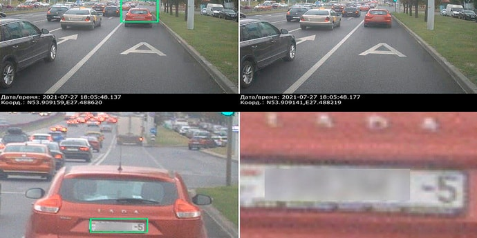 ГАИ обнародовала снимки нарушителей, снятые камерами из салонов автобусов