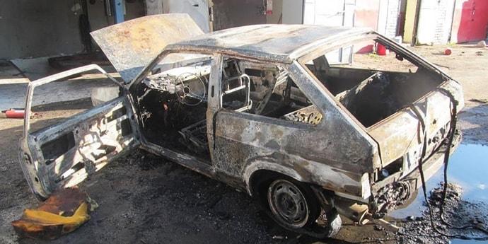 В пожаре на минской СТО пострадал рабочий  — вспыхнула одежда, покрытая горючим