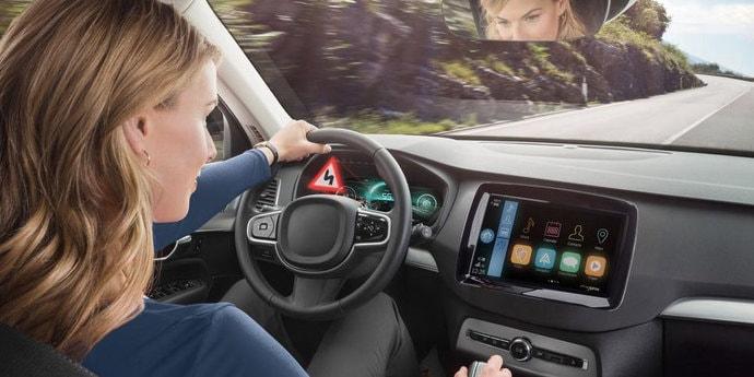 Bosch разработала приборную панель с 3D-графикой