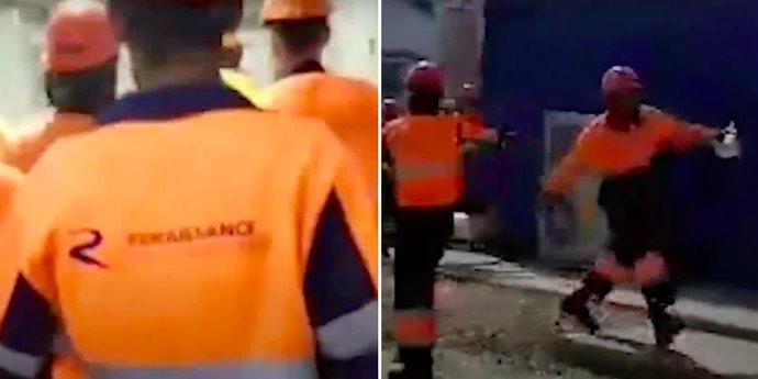 В России рабочие разгромили офис компании, которая не платила зарплату. Восстание они сняли на видео(видео)