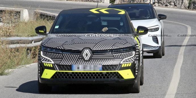 Через неделю дебютирует новый Renault MeganE. Вот каким он будет