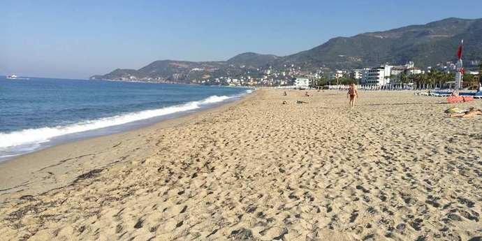 Природа настолько очистилась, что пляжи Турции совсем опустели