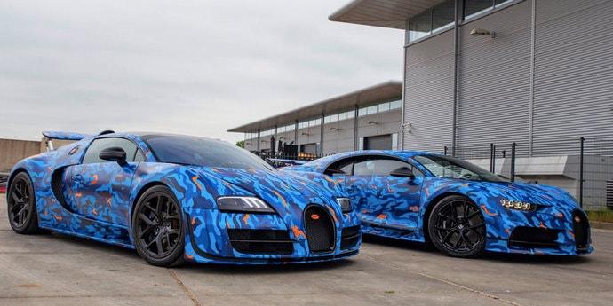 31-летний диджей купил два Bugatti и решил их индивидуализировать. Как вам?