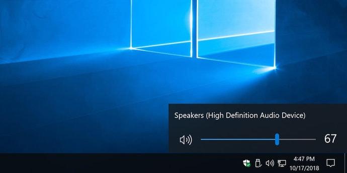 Microsoft наконец переделает ползунок громкости в Windows