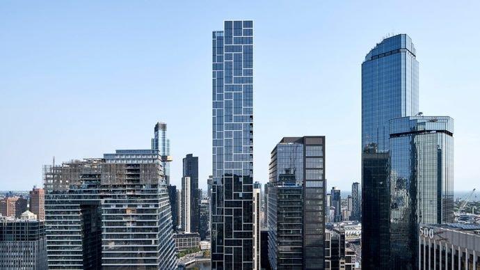 В Австралии построили ультратонкий небоскреб шириной всего 11,5 метра