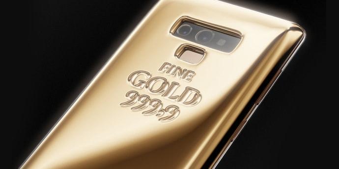 В России Samsung Note 9 из килограмма золота продают за $58 000