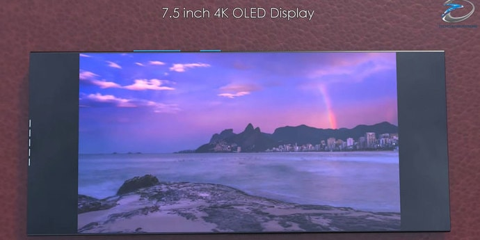 Дизайнеры придумали Xperia XZ4 Flexс огромным 4K-экраном(видео, 4 фото)