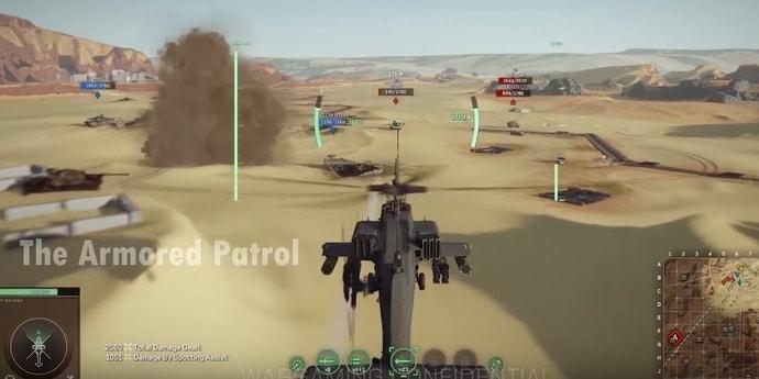 Новая игра от Wargaming про современные танки и вертолеты разрабатывалась в США, но студию закрыли