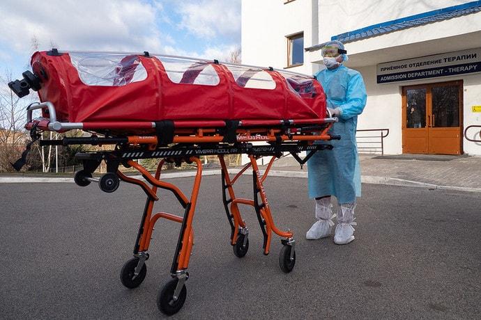 Число официально болеющих коронавирусом выросло до 7080 человек