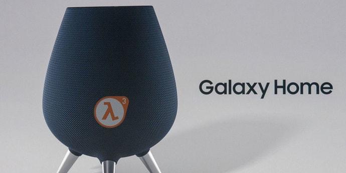 «Возможно, выйдет раньше Half-Life 3»: журналисты «празднуют» годовщину анонса колонки Galaxy Home
