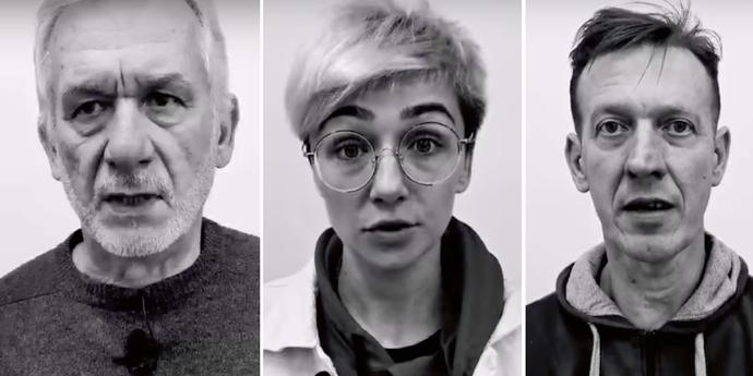 Актеры Гродненского театра кукол записали видео против насилия
