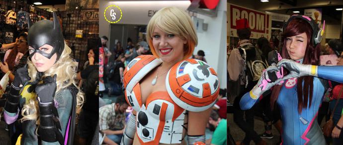 Фотофакт: косплееры на фестивале Comic-Con 2016