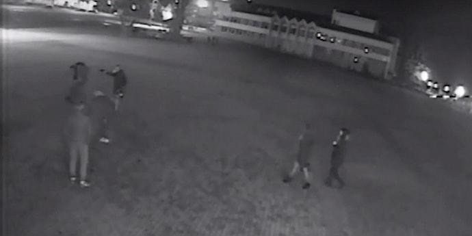 Схватка у клуба: мозырянин сначала стрелял из пневматики вверх, потом — в ухо оппоненту (видео)