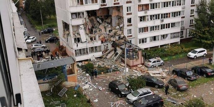 Взрыв в Ногинске: разрушены три этажа дома, два человека погибли