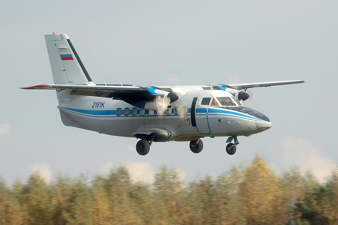 Самолет L-410 разбился под Иркутском. Предварительно, погибли 4 человека(дополнено)