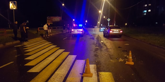 Двойной наезд на пешехода в Орше — мужчина погиб