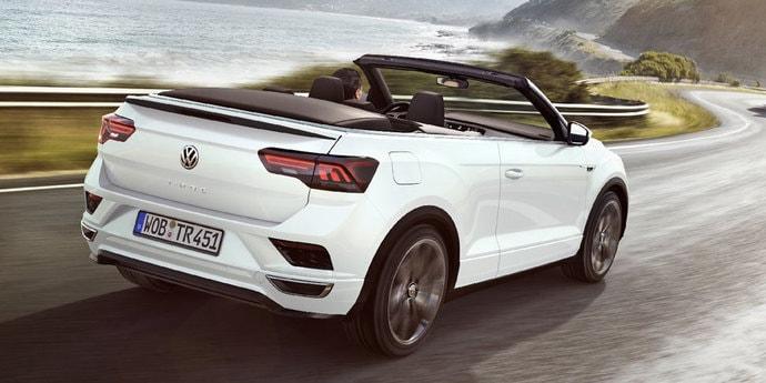 Volkswagen представила свой единственный серийный кабриолет. И это кроссовер!