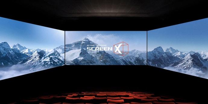 В минском кинотеатре появится экран ScreenX с обзором 270 градусов(видео)