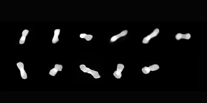 Огромный астероид в виде «собачьей кости» снова заметили в космосе. Что это?