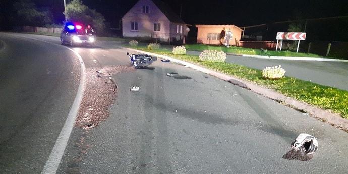 За выходные случилось три смертельных ДТП с участием мотоциклов