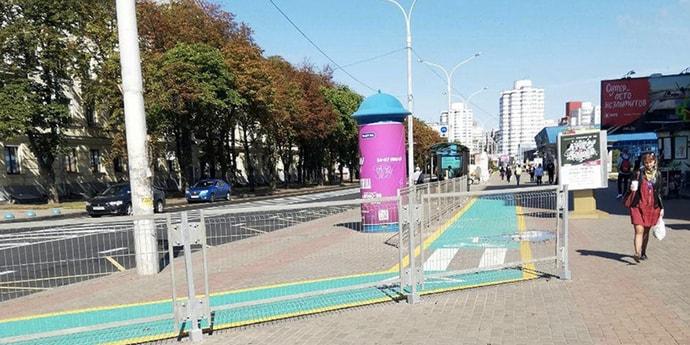 В следующем году в Минске начнут строительство новой магистральной велодорожки