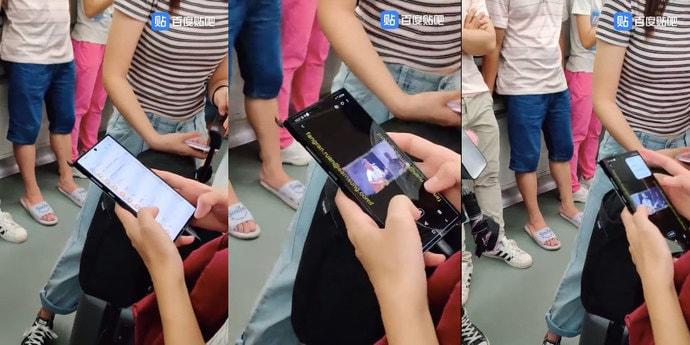 Посмотрите на прототип огромного Samsung Galaxy Note 10 Plus(видео)