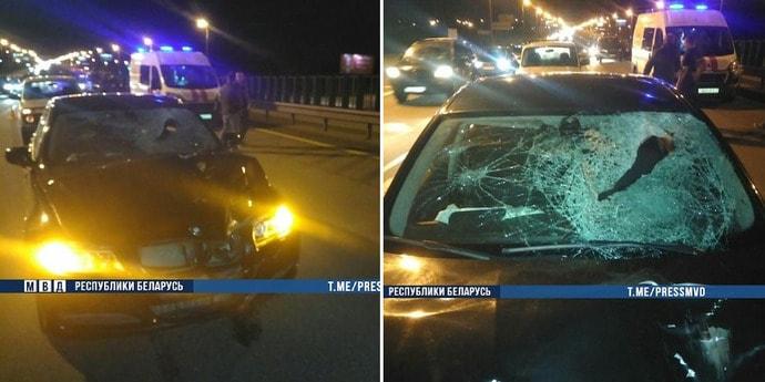 Два парня пытались перебежать МКАД. Один из них попал под колеса и погиб, второй с места происшествия скрылся(дополнено)