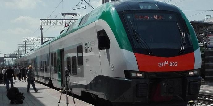 БЖД обновит поезда на линии Минск — Гомель