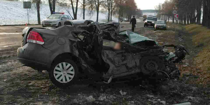авария с фольксваген поло 2 декабря